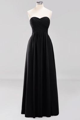 Herz Ausschnitt Braujungfernkleider Träglos | Elegantes Brautjungfer Kleid Weinrot_28