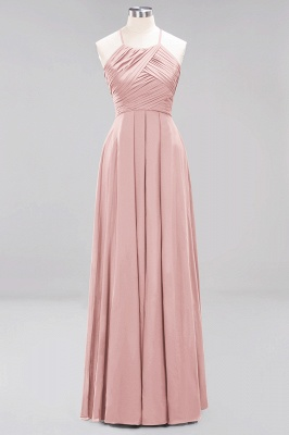 Brautjungfernkleider Weinrot Lang Chiffon | Etuikleider Brautjungfernkleid Übergröße_6