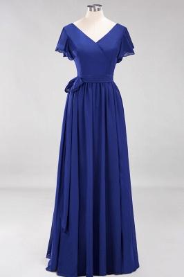 Elegante Brautjungfernkleider Mit Schlitz   Schlichtes Brautjungfer Kleid Online Kaufen_25