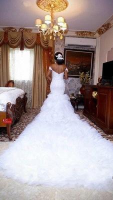 Hochzeitskleid Mit Schleppe Und Tüll | Elegante Brautkleider Mit Spitze Bodenlang_2