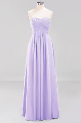Herz Ausschnitt Braujungfernkleider Träglos | Elegantes Brautjungfer Kleid Weinrot_20