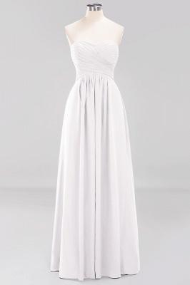 Herz Ausschnitt Braujungfernkleider Träglos | Elegantes Brautjungfer Kleid Weinrot_1
