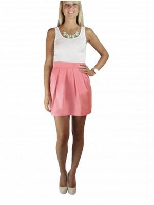 Pretty Women's Mini Skirt_2