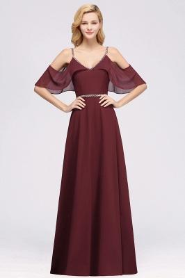 Schlichtes Brautjungfer Kleid MIt Perlen | Schlichtes Brautjungfer Kleid MIt Perlen_1