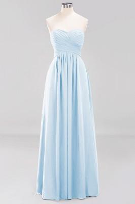 Herz Ausschnitt Braujungfernkleider Träglos | Elegantes Brautjungfer Kleid Weinrot_22