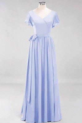 Elegante Brautjungfernkleider Mit Schlitz   Schlichtes Brautjungfer Kleid Online Kaufen_21