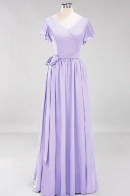 Elegante Brautjungfernkleider Mit Schlitz   Schlichtes Brautjungfer Kleid Online Kaufen_20