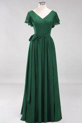 Elegante Brautjungfernkleider Mit Schlitz   Schlichtes Brautjungfer Kleid Online Kaufen_30