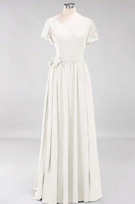 Elegante Brautjungfernkleider Mit Schlitz   Schlichtes Brautjungfer Kleid Online Kaufen_2