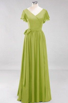 Elegante Brautjungfernkleider Mit Schlitz   Schlichtes Brautjungfer Kleid Online Kaufen_32