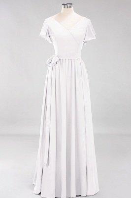 Elegante Brautjungfernkleider Mit Schlitz   Schlichtes Brautjungfer Kleid Online Kaufen_1