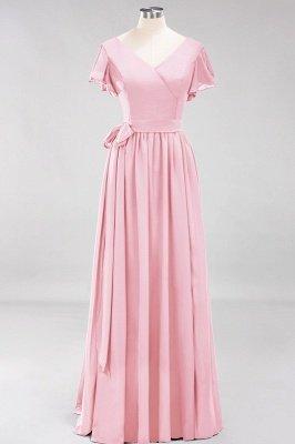 Elegante Brautjungfernkleider Mit Schlitz   Schlichtes Brautjungfer Kleid Online Kaufen_4