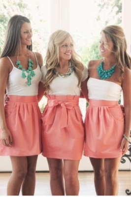 Pretty Women's Mini Skirt