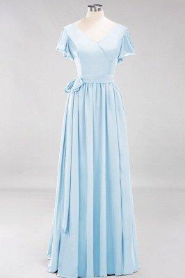 Elegante Brautjungfernkleider Mit Schlitz   Schlichtes Brautjungfer Kleid Online Kaufen_22