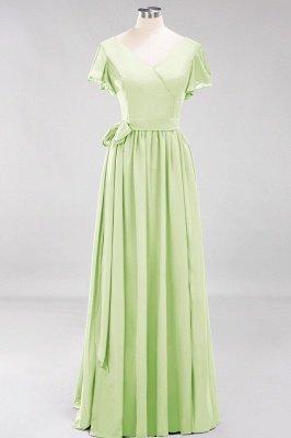 Elegante Brautjungfernkleider Mit Schlitz   Schlichtes Brautjungfer Kleid Online Kaufen_33