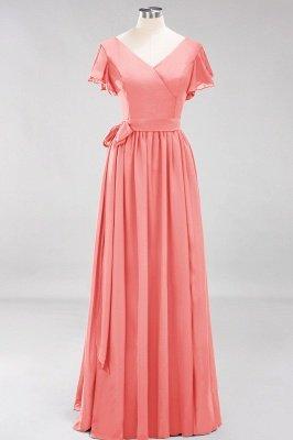 Elegante Brautjungfernkleider Mit Schlitz   Schlichtes Brautjungfer Kleid Online Kaufen_7