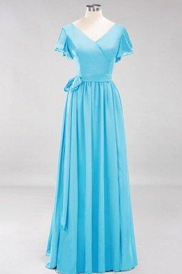 Elegante Brautjungfernkleider Mit Schlitz   Schlichtes Brautjungfer Kleid Online Kaufen_23