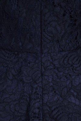 Gaine sans manches gaine asymétrique robes de dentelle Bourgogne_10