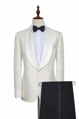 Reiner Jacquard Schal Kragen ma?geschneiderte Hochzeitsanzug für