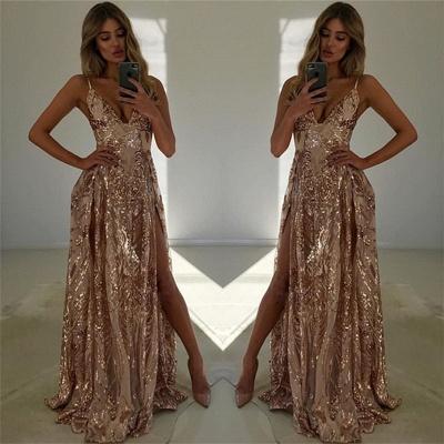 CORREAS ESPAQUETIS | Frente dividida una línea de vestido_3