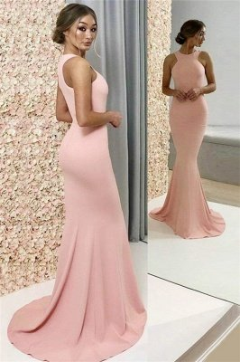 Stunning Halter Sleeveless Prom Dresses | Cheap Popular Mermaid Sexy Evening Dresses