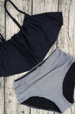Vintage Two-piece Spaghetti Straps Beachwear Suits_2