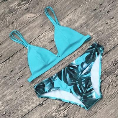 Ensembles de Bikini Imprimés Triangulaires_6