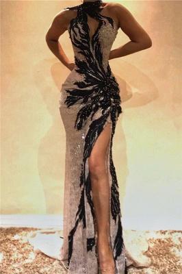 Sexy encaje rebordear sirena vestidos de baile_1