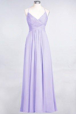 Chiffon A-Line Spaghetti-Straps V-Neck Sleeveless Long Bridesmaid Dress with Ruffles_20