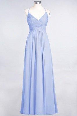 Chiffon A-Line Spaghetti-Straps V-Neck Sleeveless Long Bridesmaid Dress with Ruffles_21