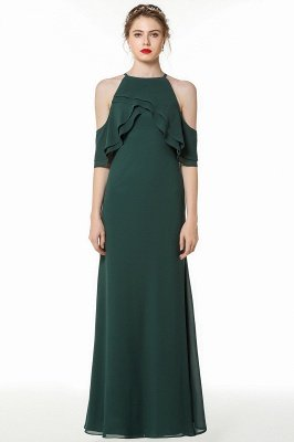 Gorgeous Dark Green Floor Length Straps Cheap Bridesmaid Dresses