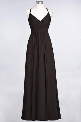 Chiffon A-Line Spaghetti-Straps V-Neck Sleeveless Long Bridesmaid Dress with Ruffles_11