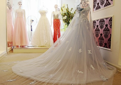 IllusionSweetheart Tulle Sleeveless Quinceanera Dress with Beadings_2