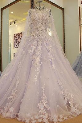 Lila Abendkleider Quinceañera Kleider | Wunderschöne Abendkleider Spitze und Tüll_5