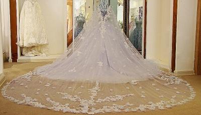 Lila Abendkleider Quinceañera Kleider | Wunderschöne Abendkleider Spitze und Tüll_2