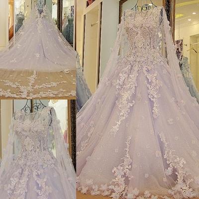 Lila Abendkleider Quinceañera Kleider | Wunderschöne Abendkleider Spitze und Tüll_6