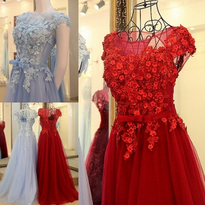 Jewel Sleeveless Flowers Quinceanera Dress