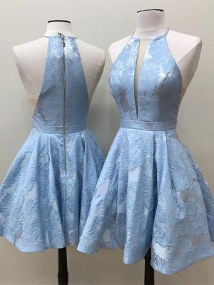 Decote em v profundo decote em apliques a linha vestido de baile sem mangas_4