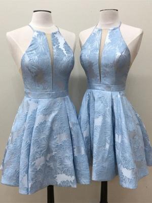 Decote em v profundo decote em apliques a linha vestido de baile sem mangas_3