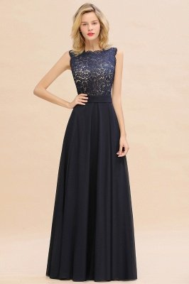 Madge | Exquisite Scoop Sleeveless Cheap Bridesmaid Dress