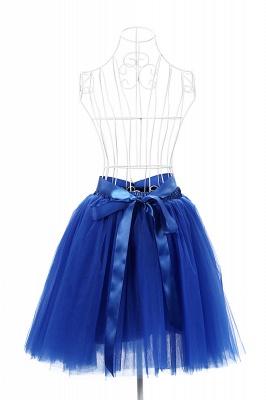 Amazing Tüll Short Mini Ballkleid Röcke | Elastische Damenröcke_21