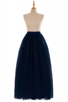 Glamorous A-line Floor-Length Skirt | Elastic Women's Skirts_14