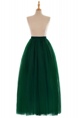 Glamorous A-line Floor-Length Skirt | Elastic Women's Skirts_16