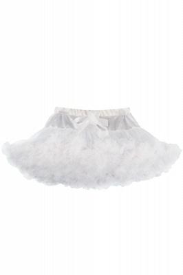 Merveilleuse jupe en tulle mini ligne | Jupes élastiques bowknot femmes_1