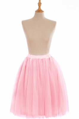 Nifty Short A-line Mini Skirts   Elastic Women's Skirts_3