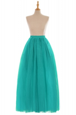 Glamorous A-line Floor-Length Skirt | Elastic Women's Skirts_12