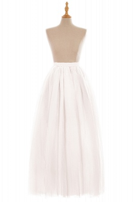 Glamorous A-line Floor-Length Skirt | Elastic Women's Skirts_1