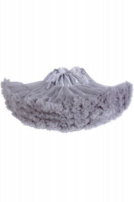 Marvelous Tulle Mini A-line Skirts | Elastic Bowknot Women's Skirts_13