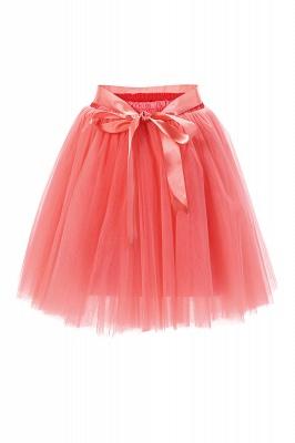 Amazing Tüll Short Mini Ballkleid Röcke | Elastische Damenröcke_3