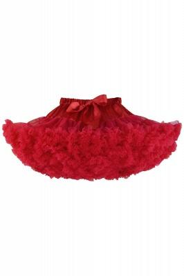 Marvelous Tulle Mini A-line Skirts | Elastic Bowknot Women's Skirts_4